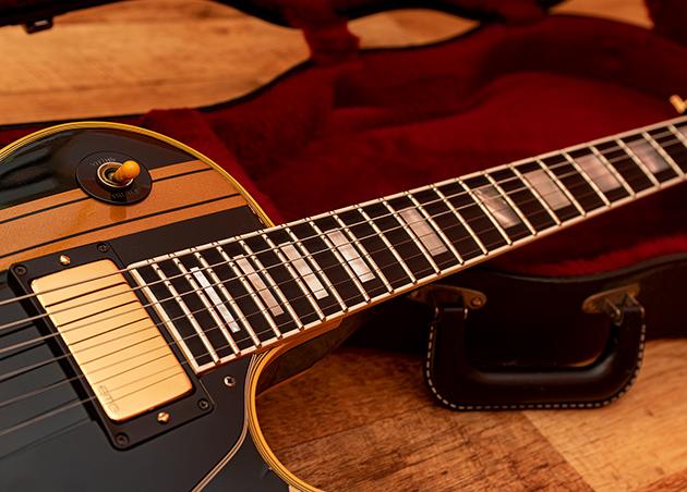 Gibson Les Paul Custom 1982 - Iron Cross customized by Augustin Cristian Apostol (#Avatar2100)